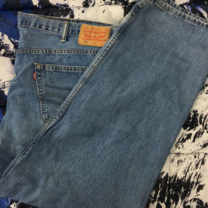 Levi's 550 Relaxed Fit Denim Jeans 48x32